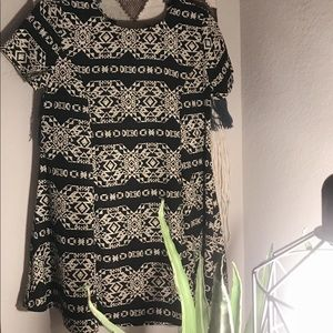 Dresses & Skirts - Tribal print skater dress